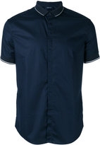 Armani Jeans polo collar shirt - men - Cotton/Spandex/Elastane - L