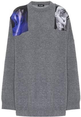 Raf Simons Printed wool sweater