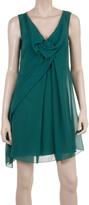 Max Studio Draped Bow Dress