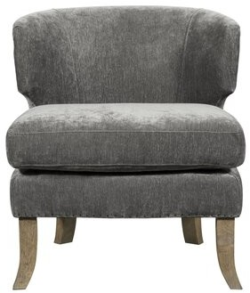 Tommy Hilfiger Swansea Barrel Chair Upholstery Color: Smoke Gray