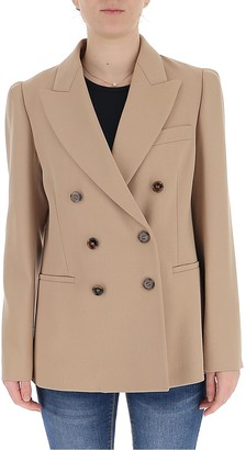 Chloé Double-Breasted Tailored Blazer