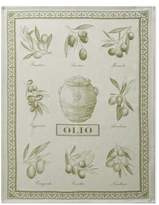 Williams-Sonoma Williams Sonoma Italian Jacquard Towel, Olive Oil