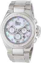 Freelook Men's HA5303M-9PX Aquamarina Ii Stainless Steel Dial Swarovski Bezel Watch