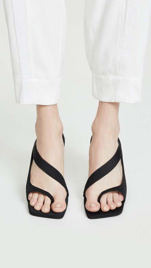 Jeffrey Campbell Berger Asymettrical Sandals