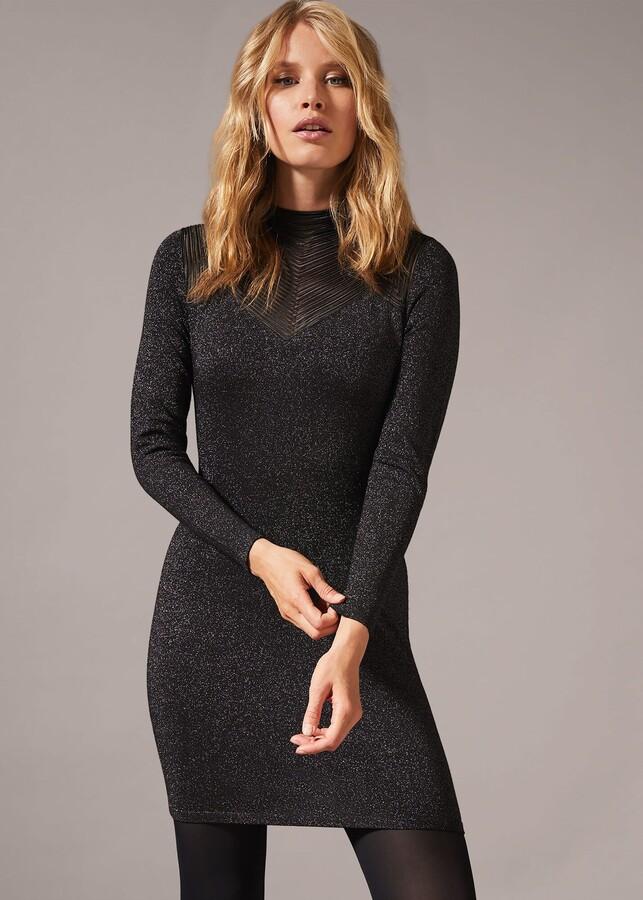 Phase Eight Tam Sparkle Knit Dress