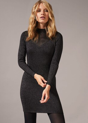 Phase Eight Tam Sparkle Knit Dress