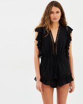 Shona Joy Eclipse Drawstring Playsuit