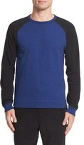 Rag & Bone Men's Colorblock Raglan Sleeve Sweatshirt