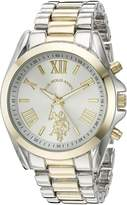 U.S. Polo Assn. Women's Quartz Metal and Alloy Casual Watch, Color:Two Tone (Model: USC40117)