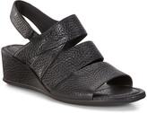 Ecco Women's Sandals Black - Black Trento Leather Wedge Sandal - Women