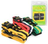 NEW Korjo Crossed Luggage Strap Set