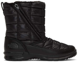The North Face Black ThermoBall Microbaffle Zip Booties