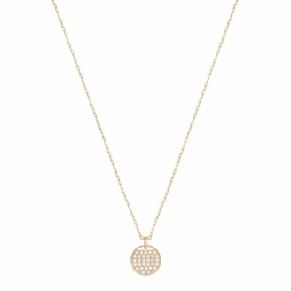 Swarovski Women's Ginger Pendant Stunning White Crystals in a Rose-gold Tone Plated Pendant with a Chain from the Ginger Collection