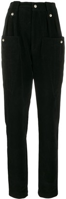 Isabel Marant high-waisted pocket detail trousers