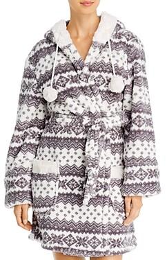 PJ Salvage Cozy Hooded Robe