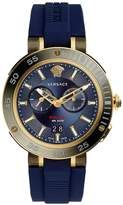 Versace VCN010017 V-Extreme Pro Blue Dual Time Mens Watch