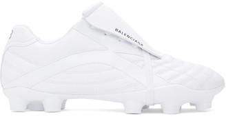 Balenciaga White Soccer Sneakers