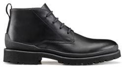 HUGO Leather desert boots with lug EVA sole