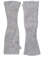 SKULL CASHMERE Solid Wool & Cashmere Blend Arm Warmers