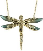 Alexis Bittar Dragon Fly Pendant Necklace
