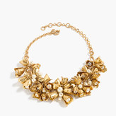J.Crew Floral bell necklace