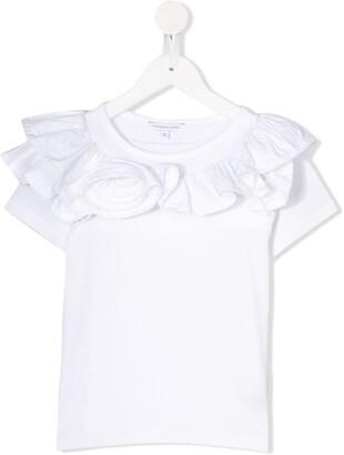 Little Marc Jacobs ruffle short-sleeve T-shirt