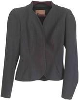 John Galliano Anthracite Cotton Jacket for Women