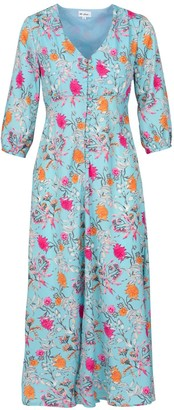 At Last... Light Blue Floral Belgravia Dress