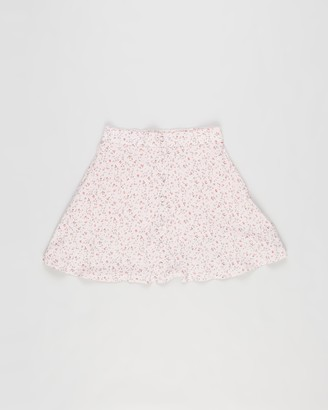Abercrombie & Fitch Girl's Pink Skorts - Ditsy Floral Skirt - Teens - Size 9-10YRS at The Iconic