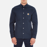 Carhartt Long Sleeve Tony Shirt Navy Rigid