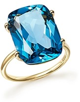 Bloomingdale's London Blue Topaz Statement Ring in 14K Yellow Gold - 100% Exclusive