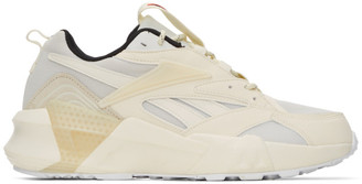 Off-White Reebok Classics Aztrek Double Mix Sneakers