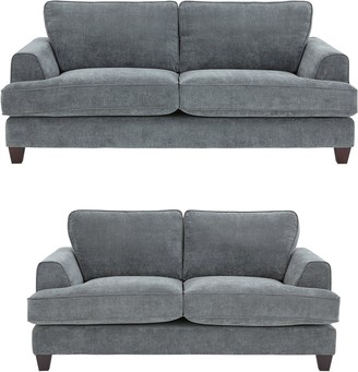 Camden 3 Seater + 2 Seater Fabric Sofa Set (Buy and SAVE!)