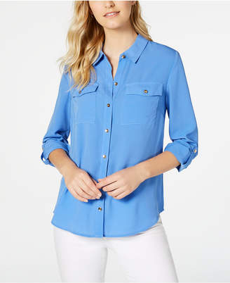 Charter Club Two-Pocket Shirt