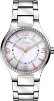 S'Oliver SO-2842-MQ - Women's Watch, Stainless Steel, Silver Color