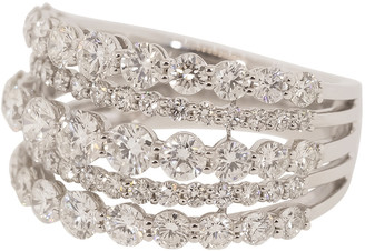 Kwiat Five Line Diamond Ring