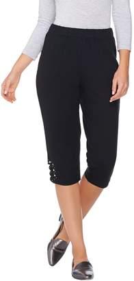 Factory Quacker Stars & Stripes Lattice French Terry Capri Pants