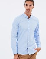 Brooksfield Luxe Arrow Print Shirt
