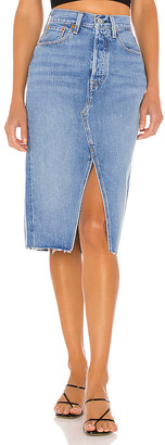 Levi's Deconstructed Split Skirt. - size 23 (also