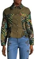 Etro Brocade Side Tie Jacket
