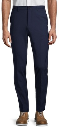 HUGO BOSS Kait Slim-Fit Wool-Blend Trousers