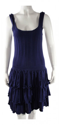 Mulberry Navy Cotton Dresses