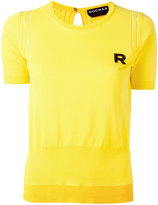 Rochas embroidered R jumper - women - Cotton - 38