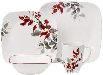 Corelle Kyoto Leaves 16-pc. Dinnerware Set