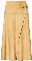 Ralph Lauren Antonella Suede Skirt