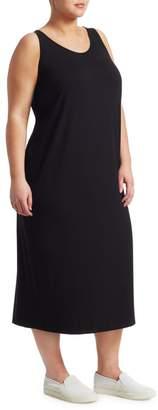 Eileen Fisher Eileen Fisher, Plus Size System Jersey Tank Dress