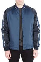Ben Sherman Snap Front Luxe Bomber Jacket