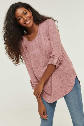 Ardene Brushed Tunic Sweater