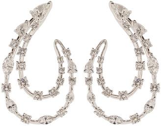 Kwiat Double Line Diamond Earrings