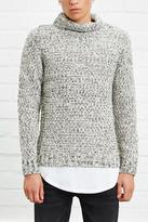 Forever 21 Marled Knit Turtleneck